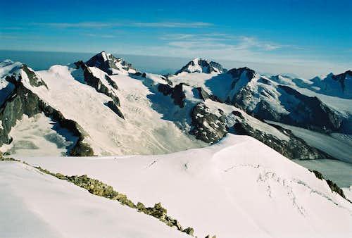 Jungfrau 4158m range