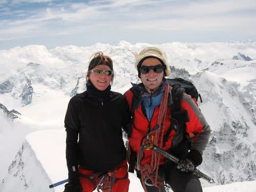 On Top of the Jungfrau 4158m