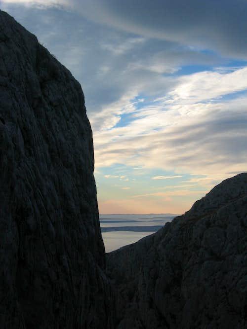 Anica kuk and the sea