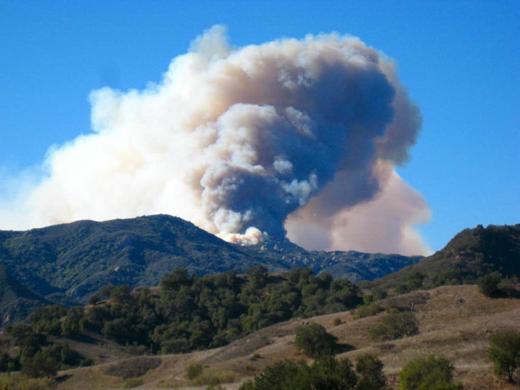 Malibu Brush Fire