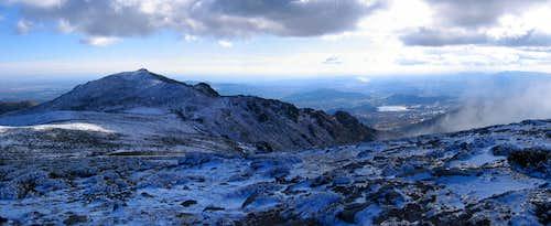 Panorama from La Bola del Mundo