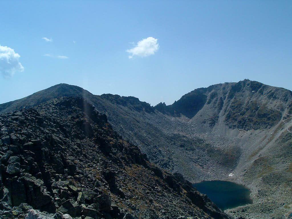 Malka Musala (2902 m) and Musala (2925 m)