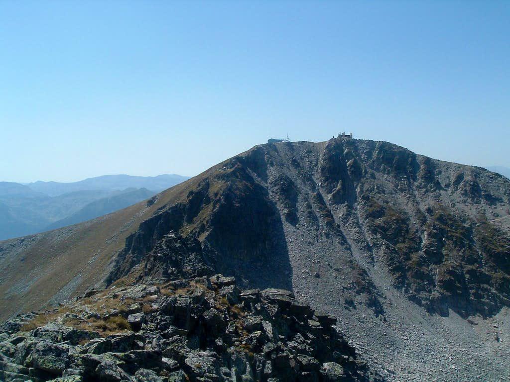 Musala (2925 m) from Malka Musala (2902 m)