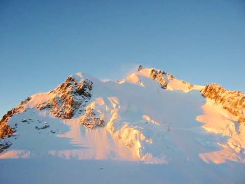 Mont Maudit seen from the...