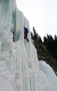 Upper Pitch of Drambuie Demon - Near Jasper