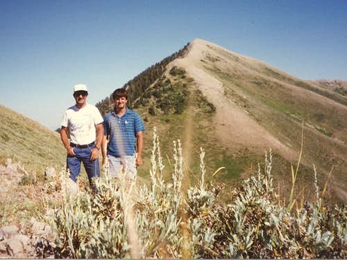 Lowe Peak's Northwest Ridge