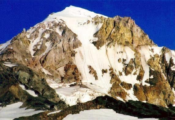 Sandy Glacier headwall and...