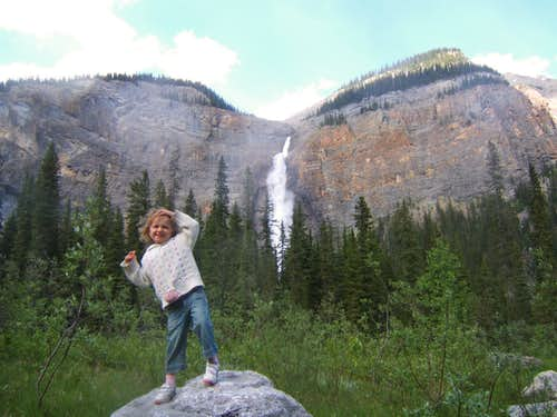 Dancing to the Music of Takakaw Falls - Yoho