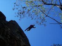 Superman Jump - Wichita Mountains