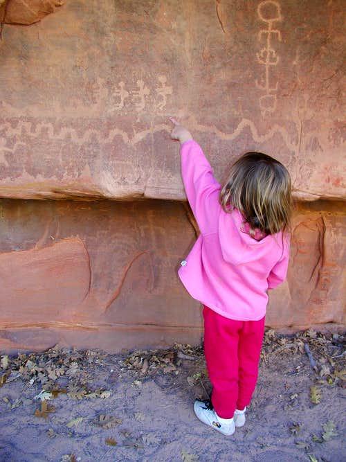 Petroglyphs in ZNP