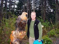 Wood Eagle in Alaska