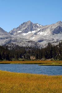 Bear Creek Spire from Marsh Lake