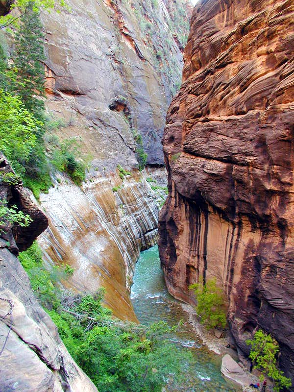 Mystery Canyon - Zion Narrows
