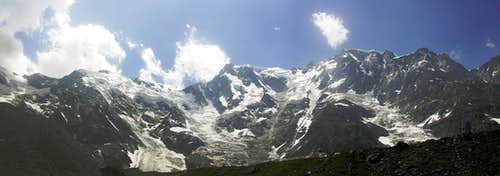 Monte Rosa - East wall