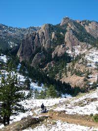 South Mesa Trailhead to Bear Peak