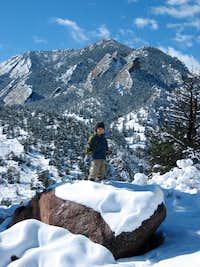 Bear Peak from South Mesa Trailhead
