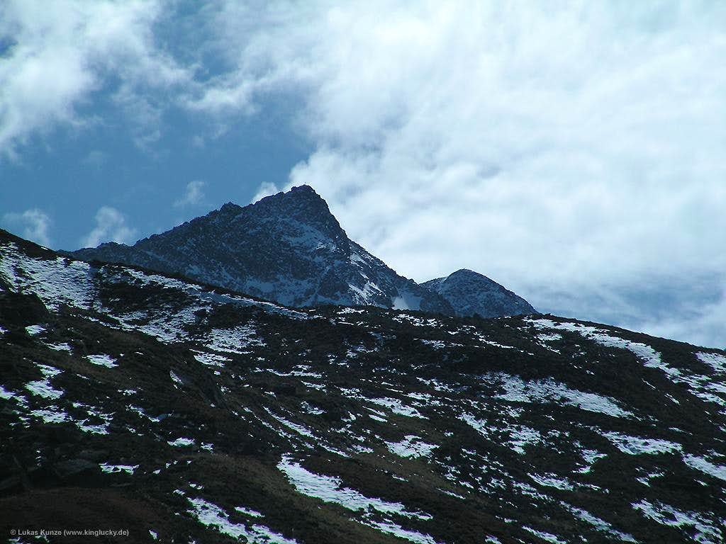 Rinnenspitze from Franz-Senn hut