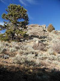 Emerald Mountain's summit