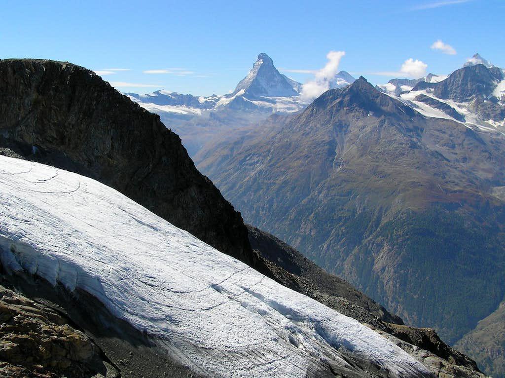 The end of the Festi glacier...