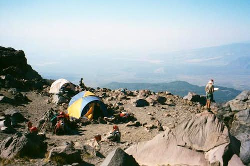 High Camp on Shasta