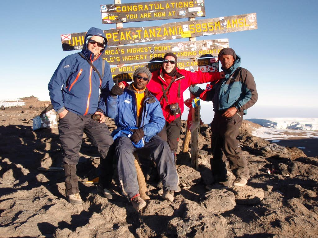 Seven days on Kilimanjaro - the climax