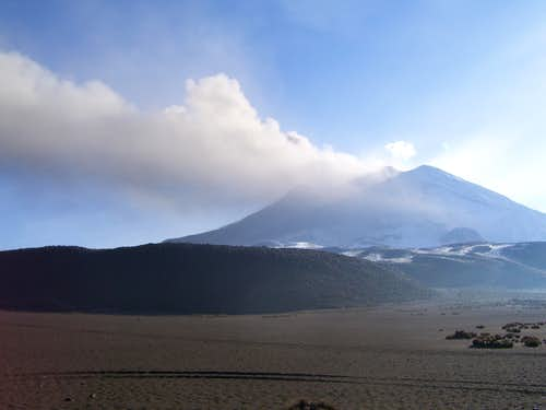 Ubinas eruption