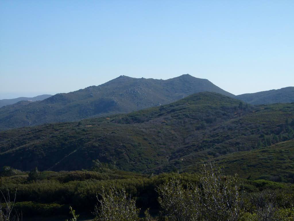 Cuyapaipe Mountain