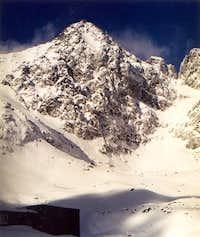 Lomnic in winter.