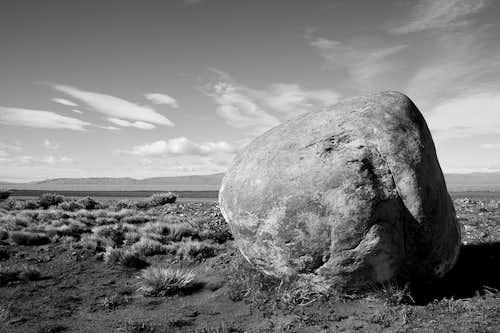 Stone near Lago Viedma