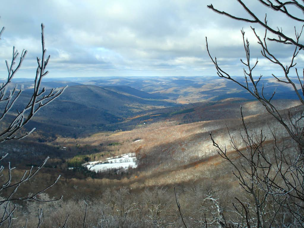 View from Summit of Dry Brook Ridge