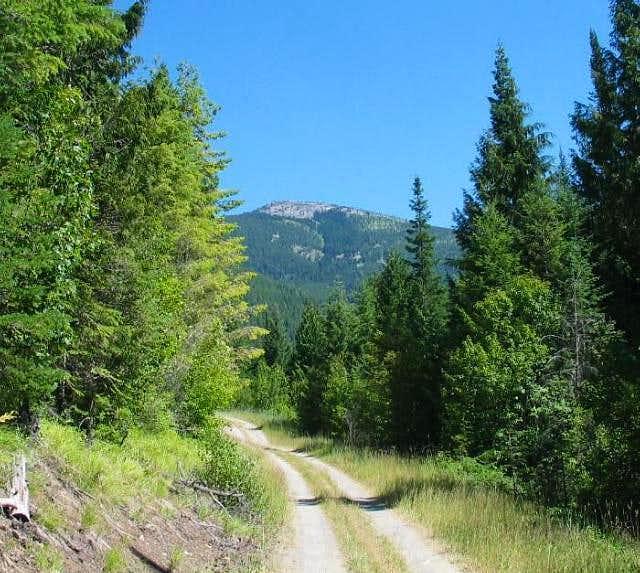 Abercrombie Peak as seen from...
