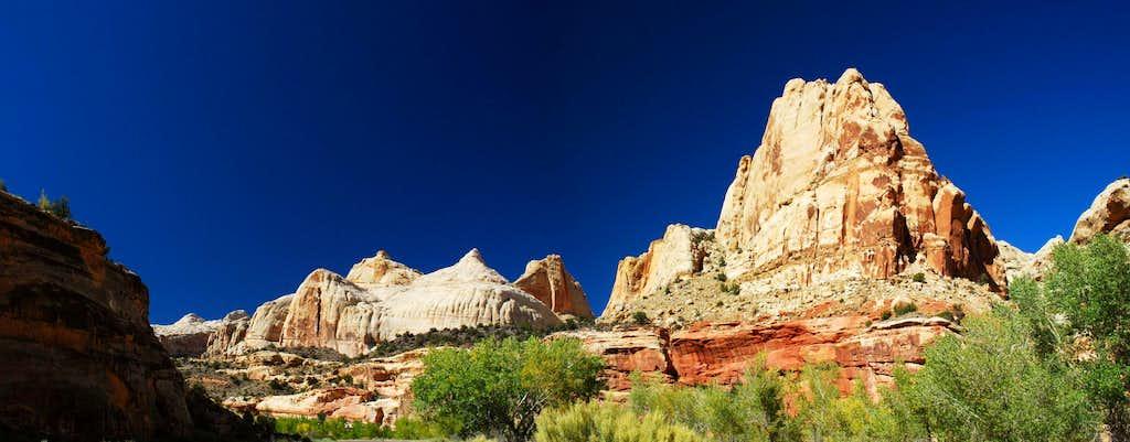 Capitol Dome and Navajo Sandstone