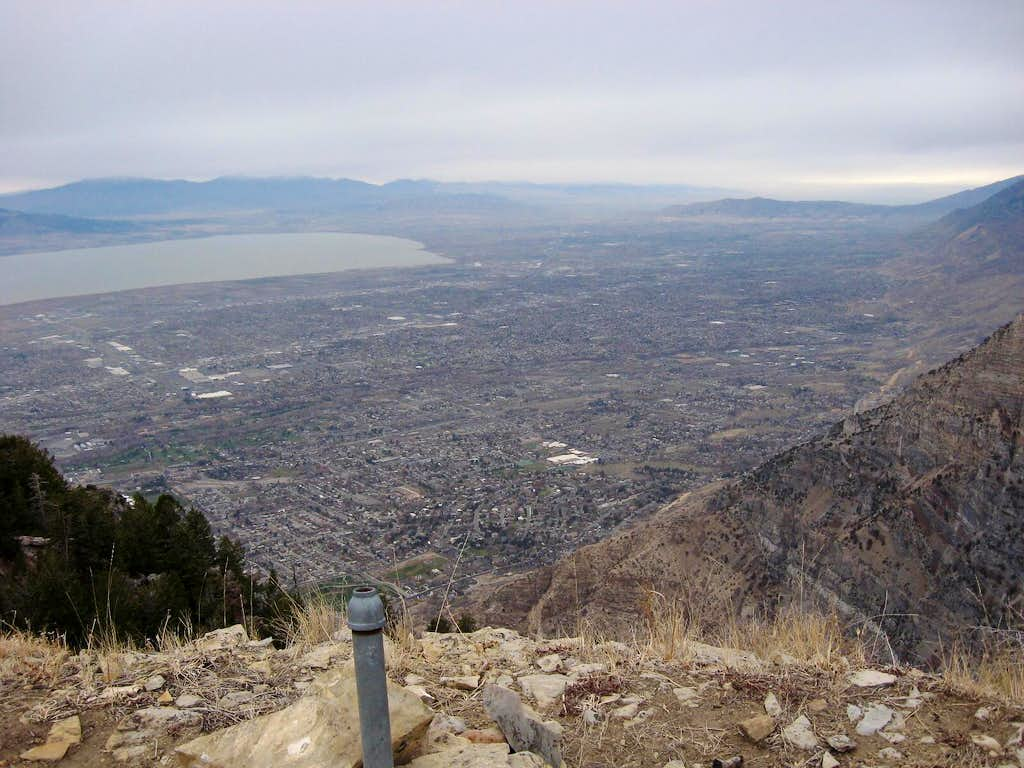 From the east summit
