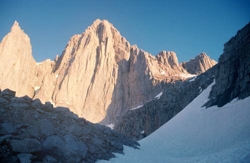 Dawn on East Face