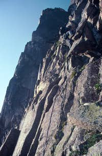 Rock Climbing Above Broadway