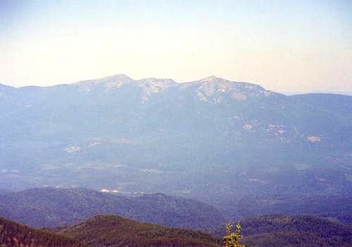 Abercrombie Mountain on the...