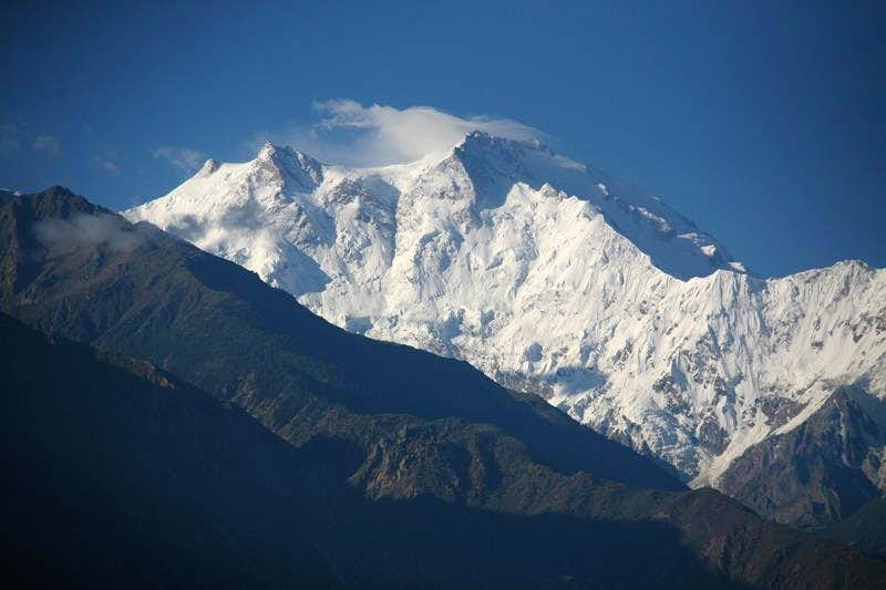 Mountain in Western Himalayas Range, Pakistan