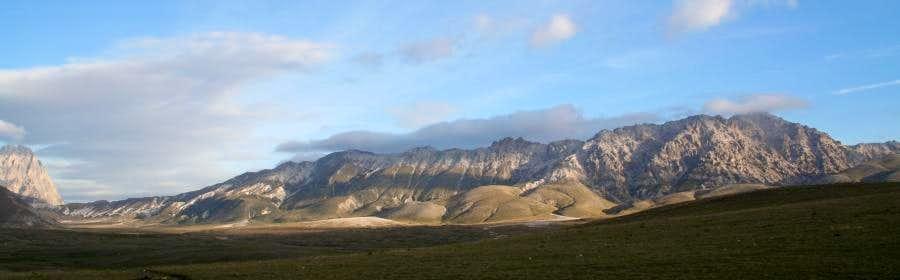 Monte Prena seen from Campo Imperatore