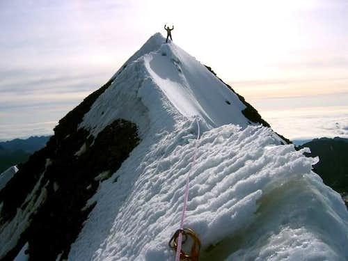 Cabeza de Condor summit ridge