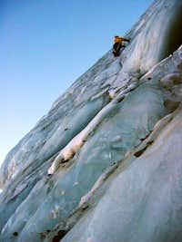 Piramide Blanca southwest face