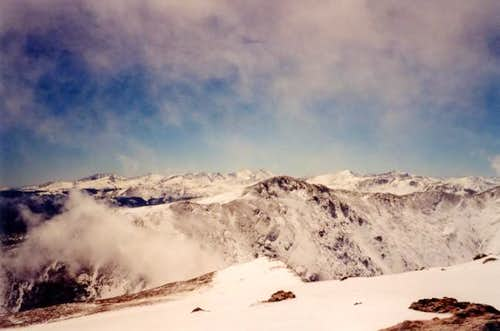 The view from James Peak\'s...