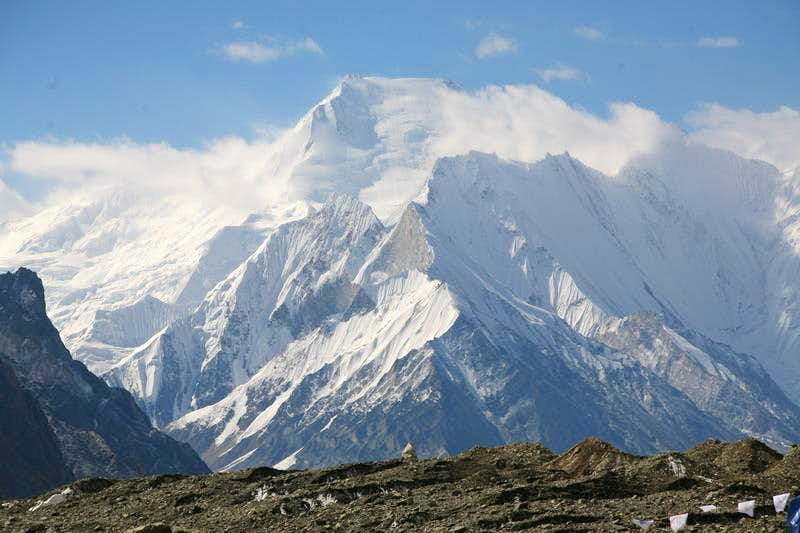 Chogolisa (7668m), Karakoram, Pakistan