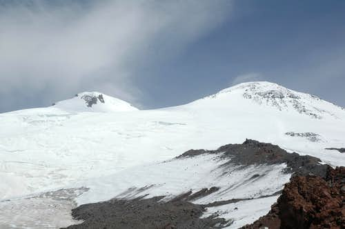 Sand and Snow from Elbrus