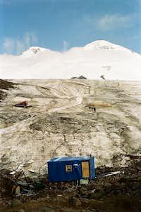 View from Barrels Hut