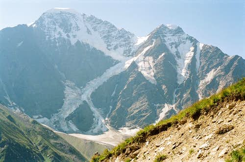 A view from Mount Cheget