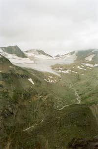 Around Azau glacier