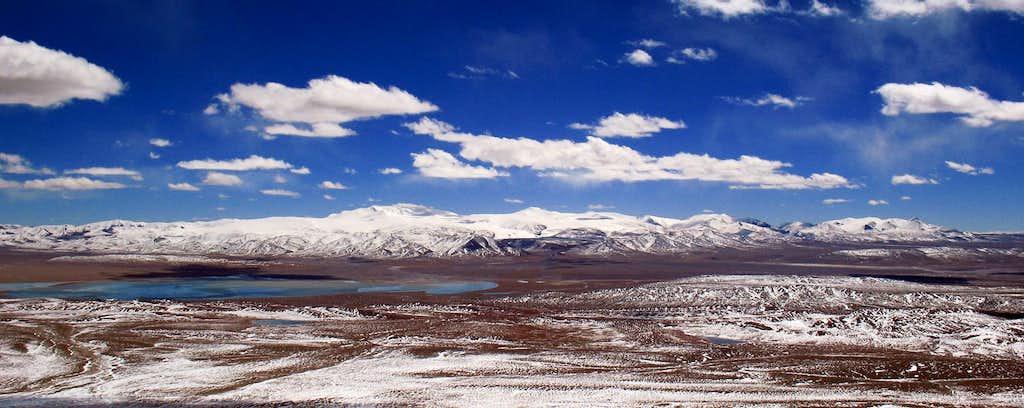 Panorama whole range