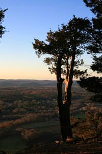 Farmington Valley Bellow at Sunset