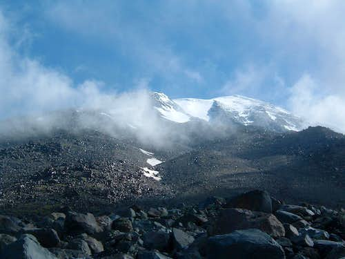 Ararat view from second camp on 4100 m.