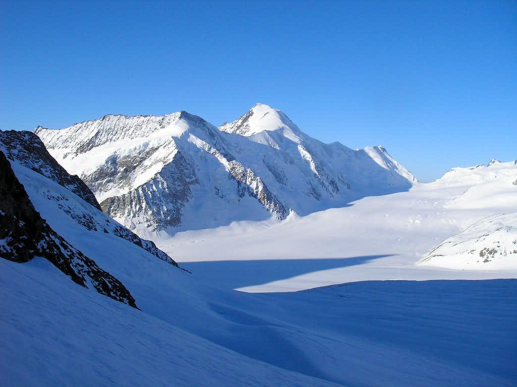 Aletschhorn 4195m & Konkordiaplatz
